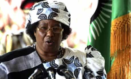 MDG : Malawi new President Joyce Banda