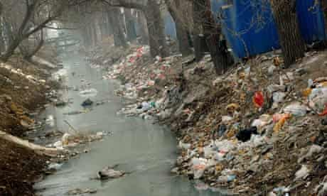WWF Living Planet Report  (LPR) : Pollution in China