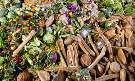 Food waste collected by Bio Collectors