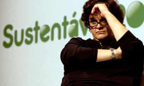 MDG : Rio+20 : Sustainable future : Brazil's Environment Minister Izabella Teixeira