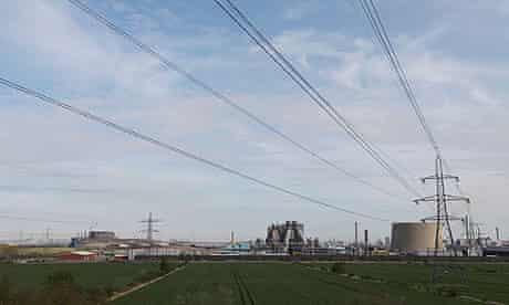 International Power Plc's Teeside Gas Power Station