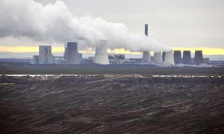 Damian in Germany : Coal Power station  : Boxberg lignite-fired power station