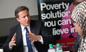 MDG : Prime Minister David Cameron