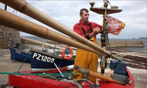 Greenpeace Be a Fisherman's Friend campaign in Cornwall