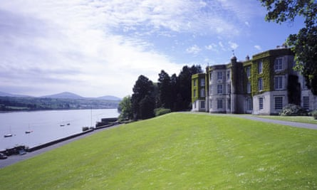 Wales Retrofitted National Trust properties : Plas Newydd on Anglesey