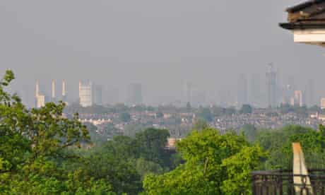 Air pollution over London : Government in Court of Appeal