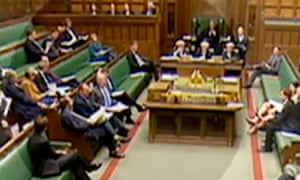 Energy Minister Charles Hendry sits on Ed Davey