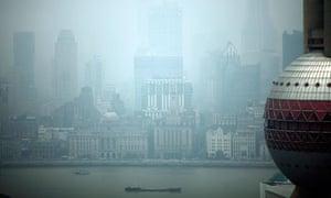 Air Pollution in Shanghai , China