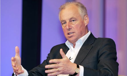 Tim Yeo speaks at Ecobuild conference at Earl's Court in London