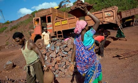 Mdg : Mining in India : iron ore at a Kalinga Mining Corp. i
