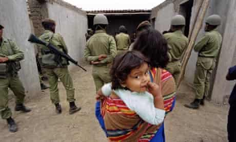 MDG : Peru : civil war