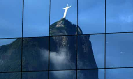 Rio+20 : The Christ the Redeemer statue in Rio de Janeiro