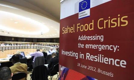 MDG : Sahel Crisis : EC meeting in Brussels