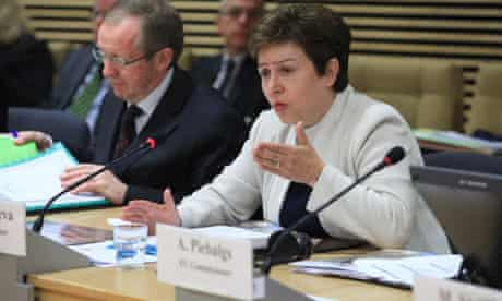 MDG : Sahel Crisis : EC meeting in Brussels : Kristalina Georgieva