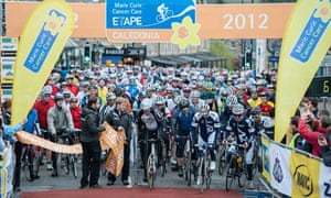 Bike blog : Marie Curie Cancer Care Etape Caledonia 2012
