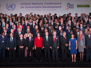 Heads of State and Delegations at UN Rio+20