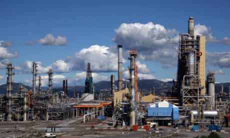 Damian on Norway energy ressources : Inside Statoil's Mongstad Gas And Oil Refinery