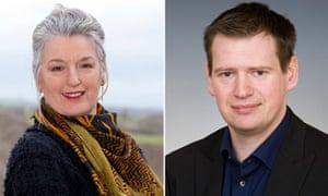 Green Party leader hopefuls : Pippa Bartolotti and Peter Cranie