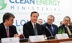 Prime Minister David Cameron Clean Energy Ministerial Conference