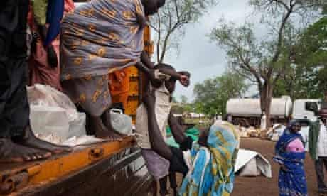 MDG : South Sudan : Refugees from Blue Nile state arrive at the Yusuf Batil Refugee camp