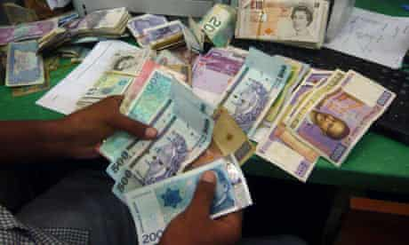 MDG : Mark in Somaliland :  international money transfer company Dahabshiil