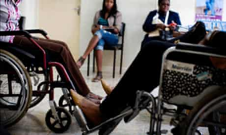 MDG : Road accidents and road safety in Kenya :  Africa Spinal Injuries Clinic, in Nairobi