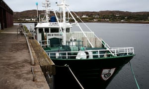 Vidal Eandin and Sealskill Spanish fishing companies in court : Spanish fishing vessel O Genita