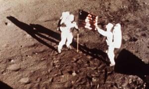 Climate change skeptics : Apollo 11 astronauts moon landing