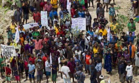 MDG : Papua New Guinea land grab : Customary landowners against SABL