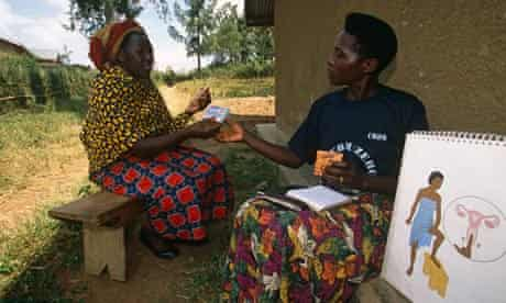MDG : Family Planning :  educating women on the use of contraceptives in Uganda
