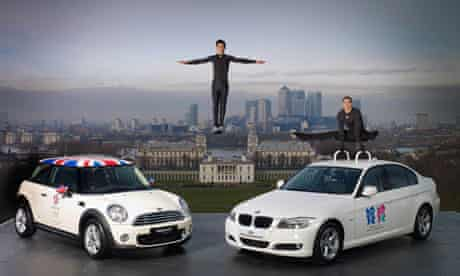 BMW  Official Automotive Partner of London Olympics 2012