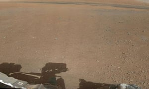colour coposite image of the Gale Crater landing site taken by NASA's Curiosity rover on Mars