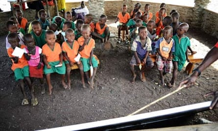 MDG : Kenya : Education : Primary school students