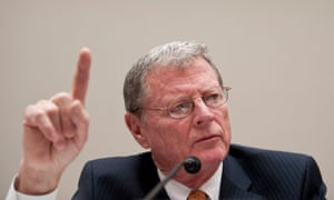 James Inhofe and senate climate change hearings