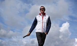 Olympic Gold Medalist And Tour De France Winner Bradley Wiggins Greets Fans In Hyde Park