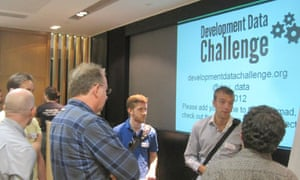MDG : Developement data challenge at Guardian offices