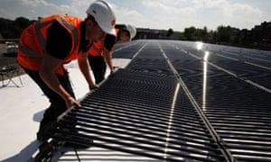 Sainsbury's has installed 69,500 new photovoltaic solar panels