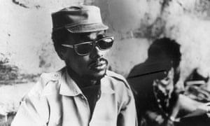 MDG : Hissene Habre leader of the Chad rebels