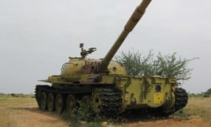 MDG : Tank said to belong to former Chad dictator Hissene Habre
