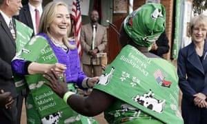 MDG : Hillary Rodham Clinton in Africa : in Lilongwe, Malawi