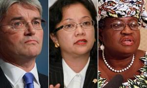 MDG : Ngozi Okonjo-Iweala, Armida Alisjahbana and Andrew Mitchell on the post-Busan panel