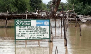 MDG : Chad floods : IDP and refugee sites around the town of Koukou