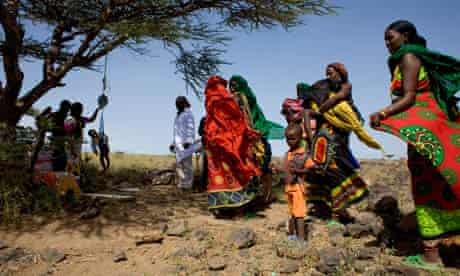 MDG : Concern Worldwide Four Stories about Hunger :  nutrition outreach clinic in northern Kenya