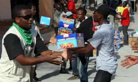 MDG : Haiti Earthquake NGOs response : Save the Children