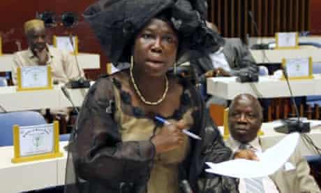 MDG : Women and politics in Sierra Leone : Dr Bernadette Lahai