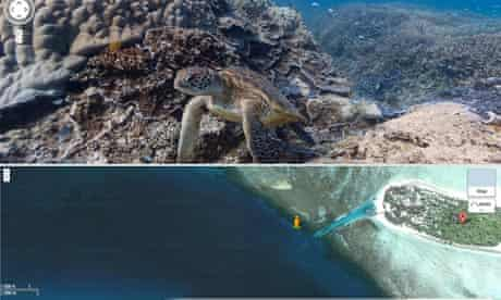 The Catlin Seaview Survey with technology from Google