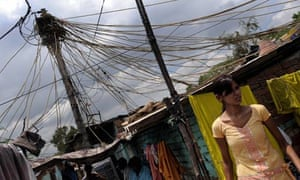 MDG : India : Energy and electricity supply in slums, India