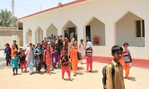 MDG : Aid budget : UK aid in Pakistan : Children leaving a school