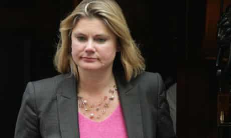 MDG : The newly named International Development Secretary Justine Greening