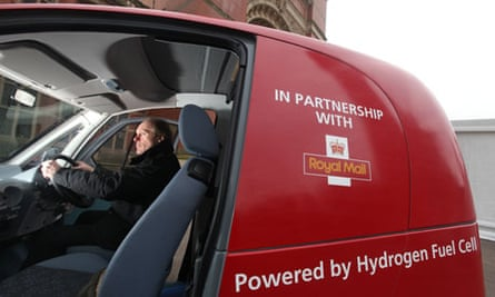 FAQs on Hydrogen : hydrogen powered Microcab used by Royal Mail on Birmingham campus